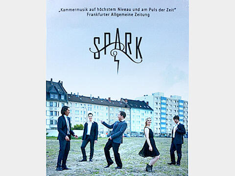 Flyer der Band SPARK